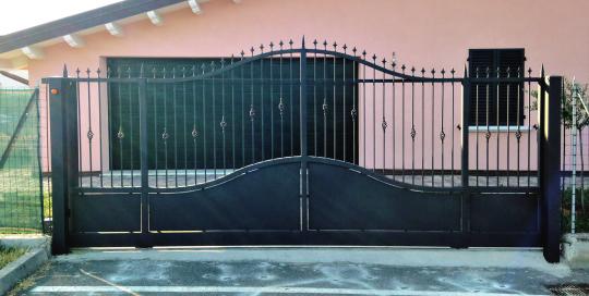 Cancello scorrevole abitazione privata